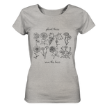 Plant These - Ladies Organic Shirt (meliert)