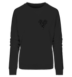 Heartbeat - Ladies Organic Sweatshirt