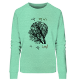 Nature Head - Ladies Organic Sweatshirt