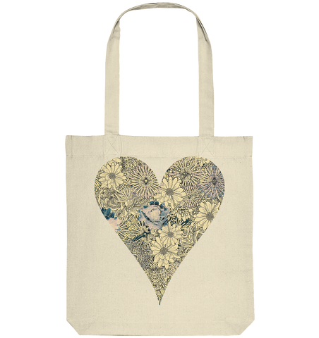 Herz abstrakt - Organic Tote-Bag