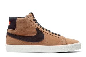 Nike SB Blazer Mid Light British Tan/Black-Sail