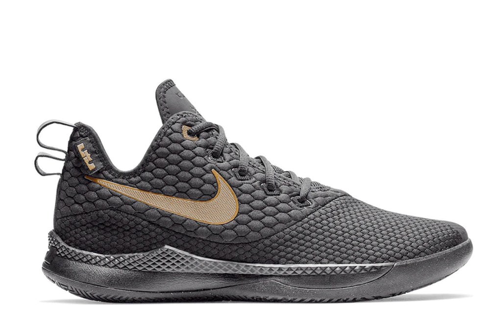 Nike LeBron Witness 3 Black/Metallic Gold/Black