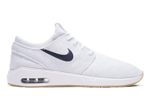 Nike SB Janoski Max 2 White/Celestial Gold-Gum Light Brown-Obsidian