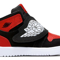 Sky Jordan (TD) Black/White-Gym Red