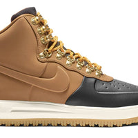 Nike Air Force 1 Duckboot High Black/Phantom-Gum Light Brown-Light British Tan