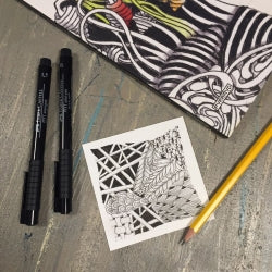 Cours : Zentangle