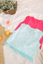 Load image into Gallery viewer, Cotton Candy Semi- Cropped Top