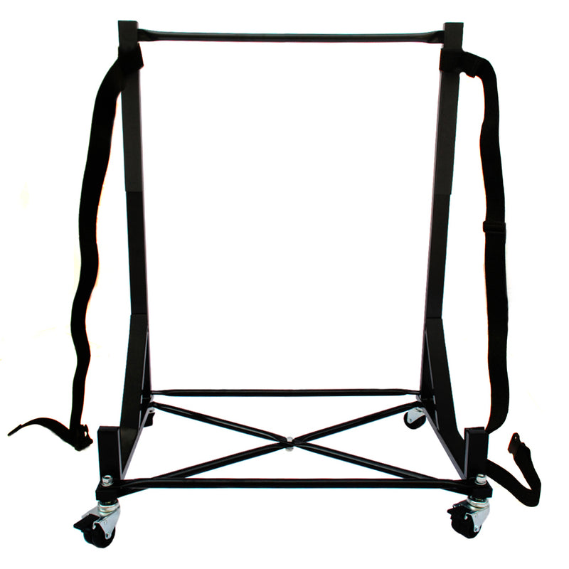 Heavy-duty Hardtop Stand Storage Rack (Black) with Securing Harness - FACTORY SECOND (050Bx)