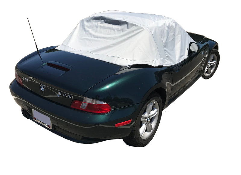 Soft Top Roof Protector Half Cover for BMW Z3 - 1995 to 2002 (100G) - GREY