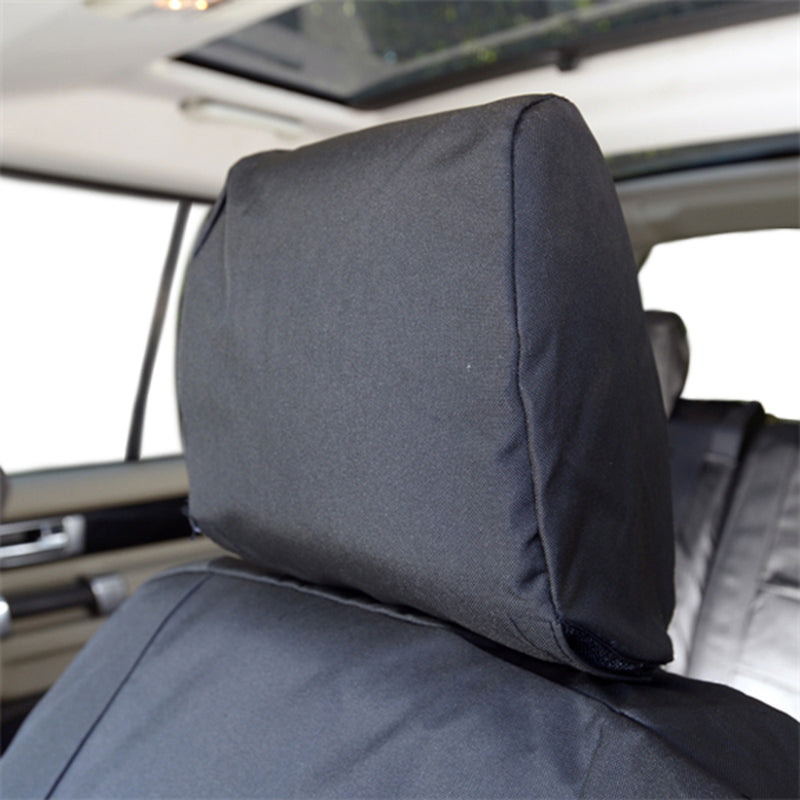 Custom Fit Seat Covers for the Land Rover LR4 - Front Pair - Tailored 2009 to 2016 (107)
