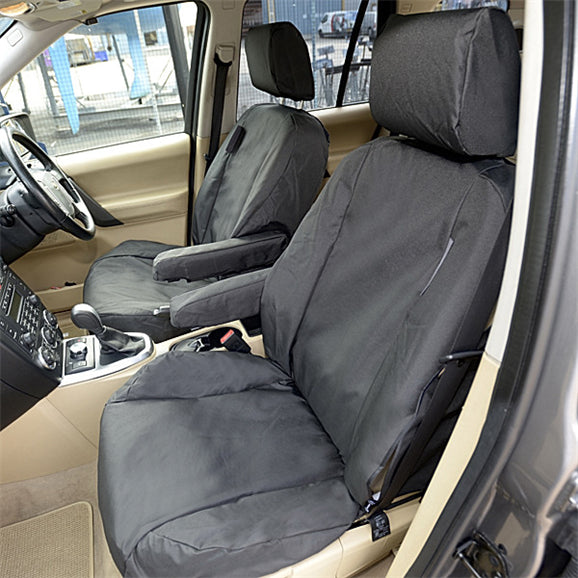 Custom Fit Seat Covers for the Land Rover LR2 - Front Pair - Tailored 2006 to 2015 (108)