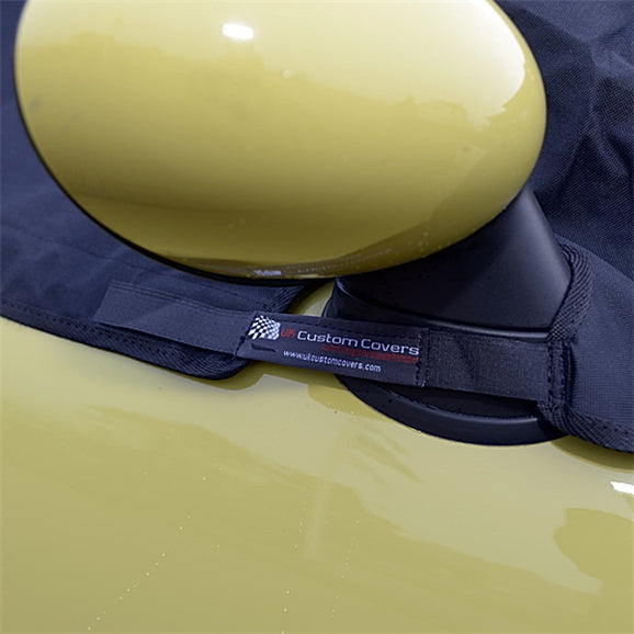 Soft Top Roof Protector Half Cover for Mini Cooper Convertible - 2004 onwards (115) - BLACK