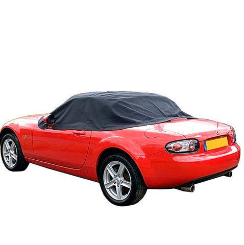 Mazda Miata MX5 Mk3 Soft Top Roof Protector Half Cover   2006 To 2015 (121)