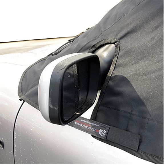 Soft Top Roof Protector Half Cover for MG F and MG TF - 1997 to 2005 (123 - BLACK