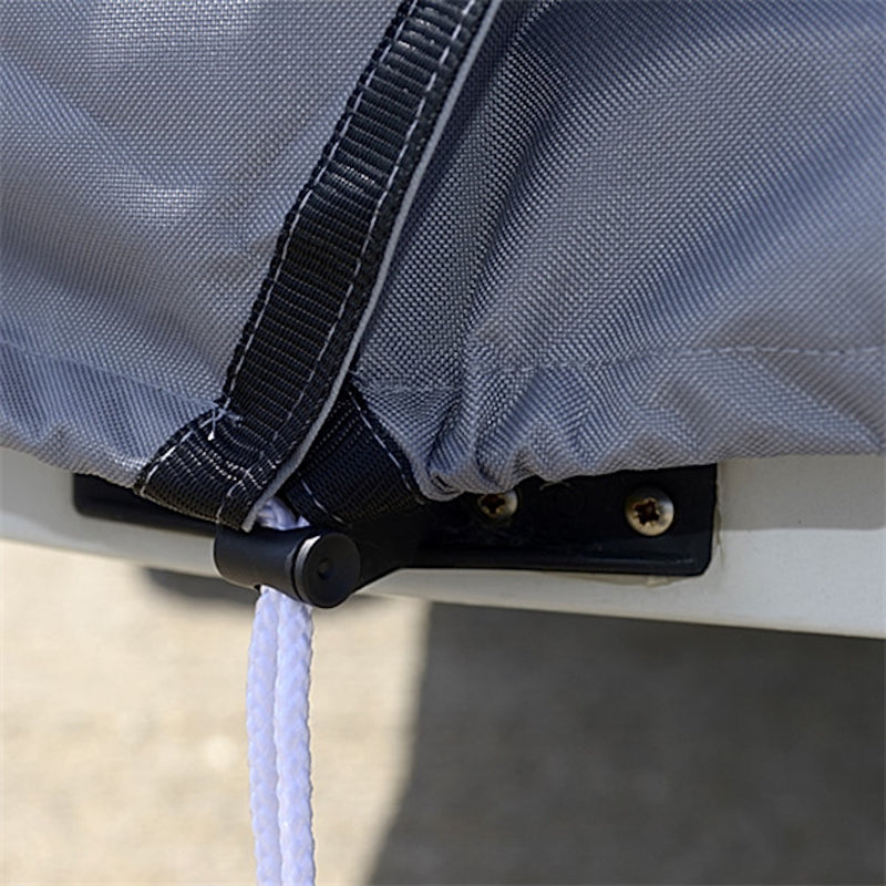 Sailboat Deck Cover for the Laser Dinghy - Tailored, Waterproof, Breathable Boat Cover - Grey (125G)