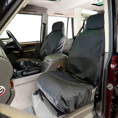 Land Rover Discovery 2 Seat Covers - Front Pair - Tailored 1998 to 2004 (148)