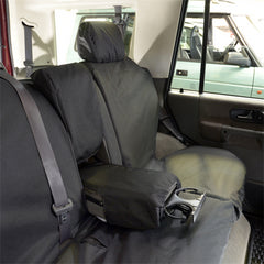 Land Rover Discovery 2 Seat Covers - Rear Seats - Tailored 1998 to 2004 (149)