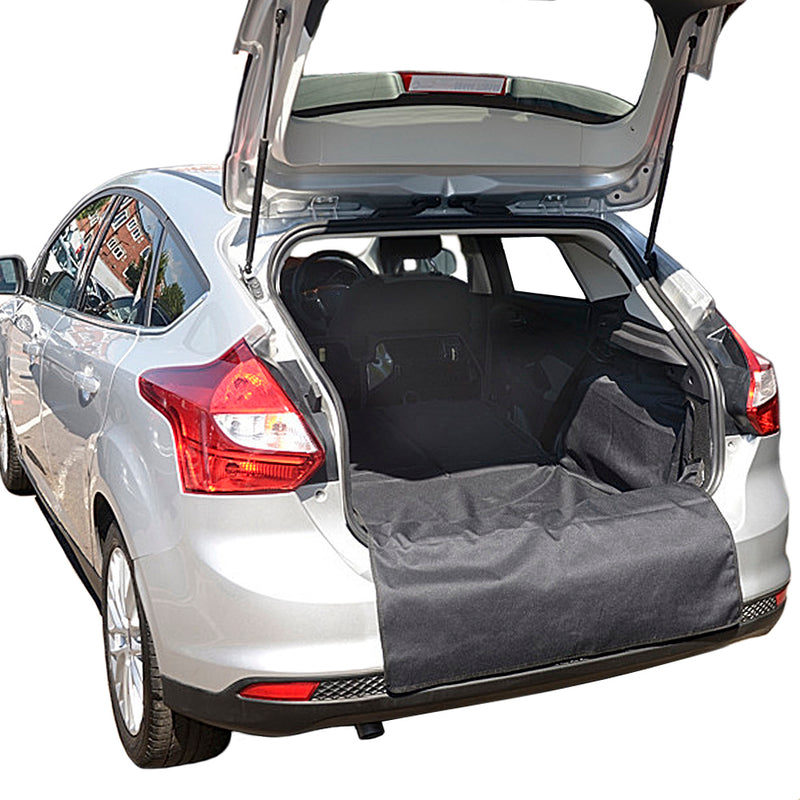 Custom Fit Cargo Liner for the Ford Focus Hatchback with Full Size Spare Wheel Mk3 Generation 3 - 2011 to 2018 (159)