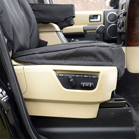 Custom Fit Seat Covers for the Land Rover LR3 - Front Pair - Tailored 2004 to 2009 (191)