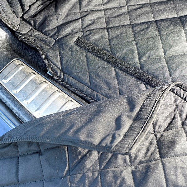 Custom Fit Quilted Cargo Liner for the BMW X3 2010 to 2017 Generation 2 (218)