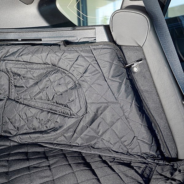 Custom Fit Quilted Cargo Cargo Liner for BMW X5 Generation 3 F15 - 2013 to 2018 (230)