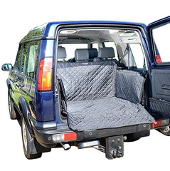 Land Rover Discovery 2 Cargo Liner Trunk Mat - Quilted, Tailored & Waterproof - 1998 to 2004 (231)