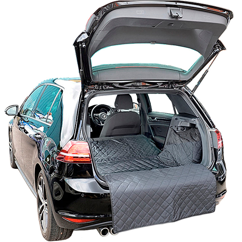 Custom Fit Quilted Cargo Liner for the Volkswagen Golf Mk7 Hatch Low Floor version Generation 7 - 2015 onwards (263)