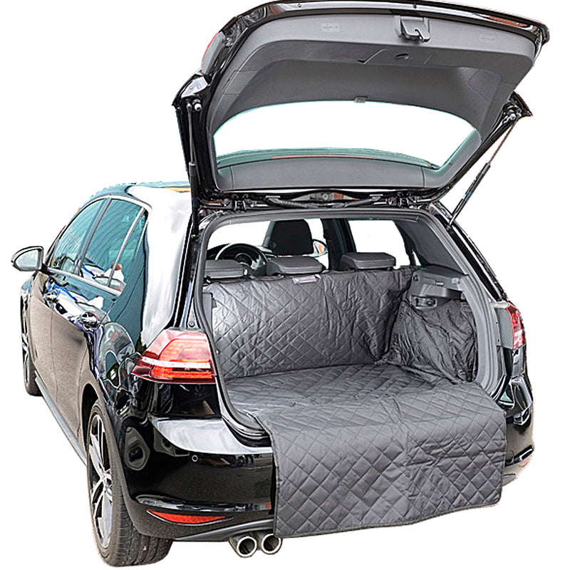 Custom Fit Quilted Cargo Liner for the VW Golf MK7 Hatchback (Raised Floor version) - 2015 onwards