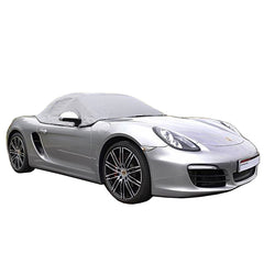 Porsche Boxster 981 Soft Top Roof Protector Half Cover - 2012 to 2016 (288G) - GREY