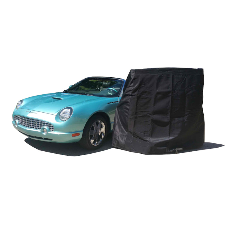Premium Generic Fit Hardtop Cover - Large Size (Black)