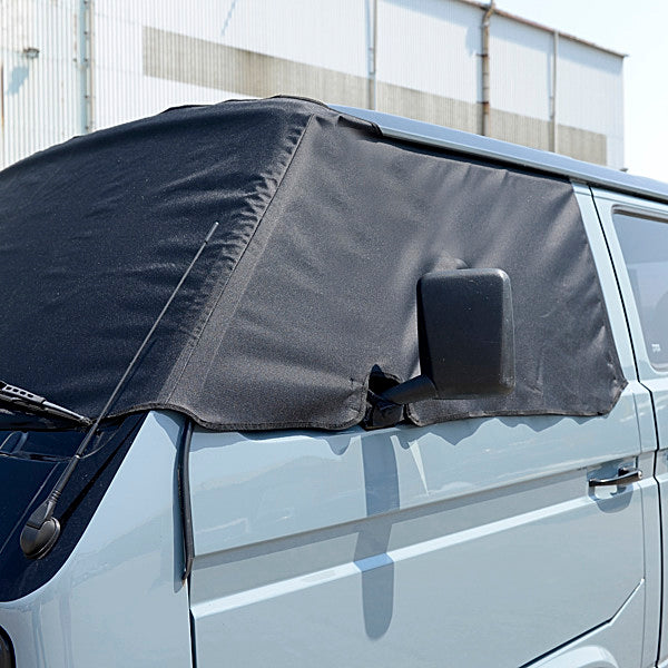 Screen Wrap Frost Cover for VW Vanagon Bus Camper Post-Type 2 T3 / T25 - BLACK - 1979 to 1992 (295B)