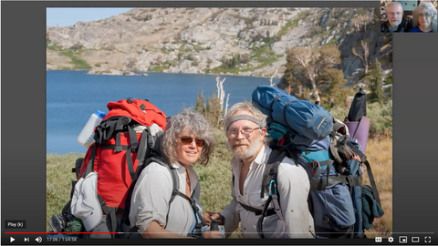 Video of the Beauty and the Beast: California Wildflowers and Climate Change Talk by conservation photographers Rob Badger and Nita Winter for the San Anselmo Library