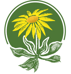 CNPS California Native Plant Society logo Yellow flower in green circle