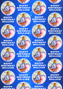DUMBO Personalised Wrapping Paper - Disney