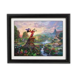 MICKEY'S FANTASIA By Thomas Kinkade Disney Dreams Collection