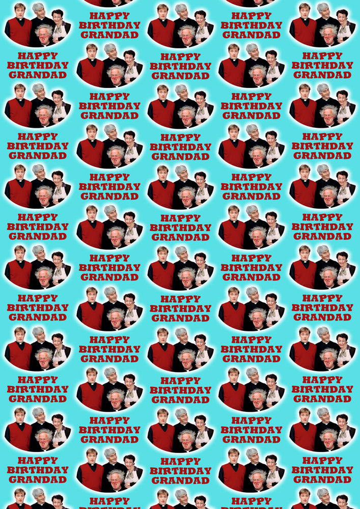 FATHER TED Personalised Wrapping Paper
