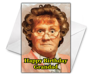 MRS BROWNS BOYS Personalised Birthday Card