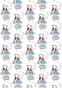 WINNIE THE POOH Personalised Wrapping Paper - Disney - D2