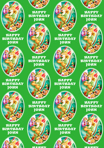 ROBIN HOOD Personalised Wrapping Paper - Disney