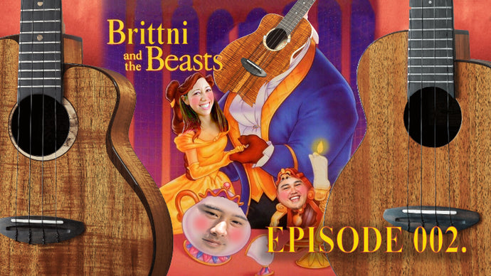 Brittni and the Beasts (and sound samples of aNueNue Koa Ukuleles with Brittni Paiva)