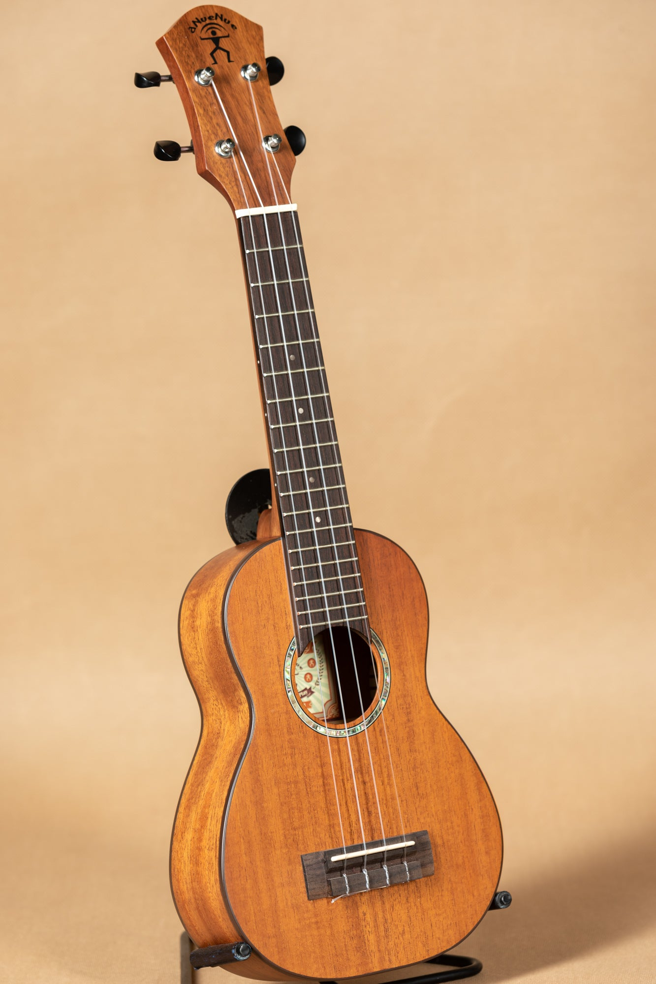 aNueNue Hawaiian Dream Series S3 Solid Mahogany Top Soprano Ukulele
