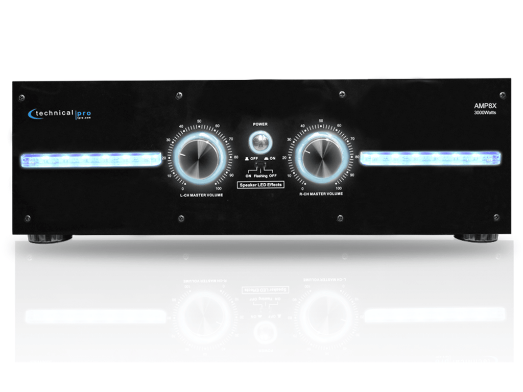 Technical Pro - 2U Pro 2CH Power Amplifier