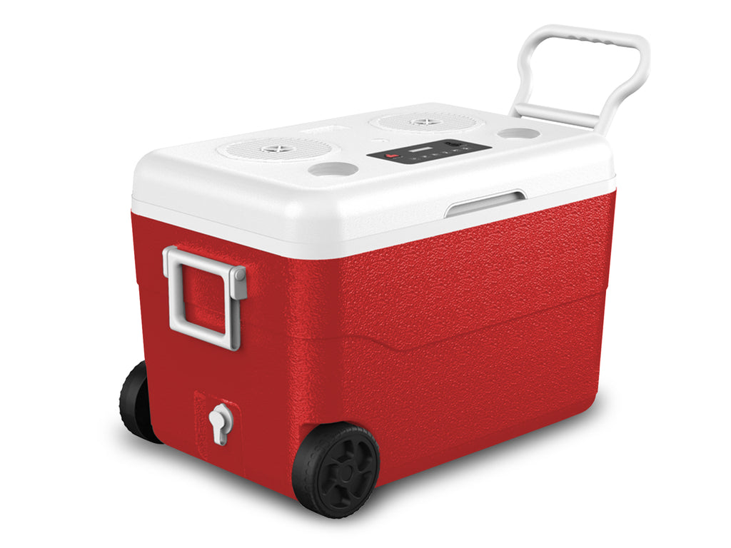 Waterproof Cooler with Rechargeable Bluetooth Speaker