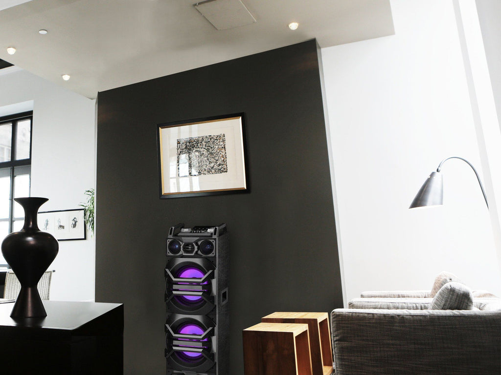 "Technical Pro - Powered 10"" LED Tower Speaker"