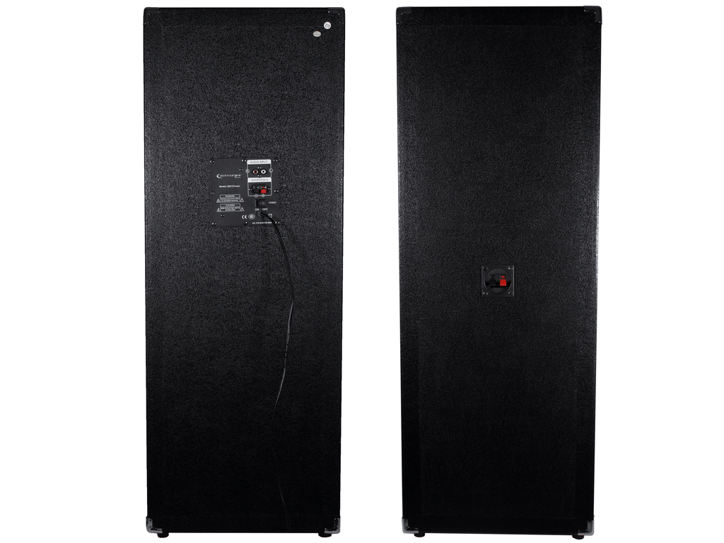 "12"" LED Tower Speaker Set"
