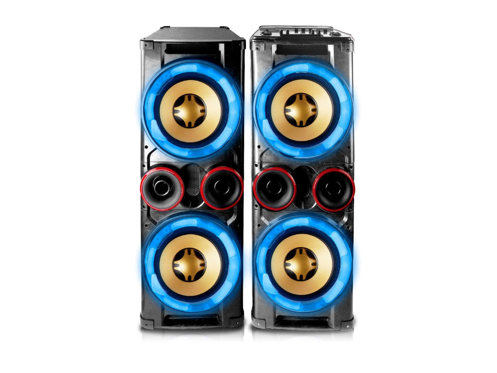 "Technical Pro - Integrated DJ Mixer Dual Active 12"" Speaker System"