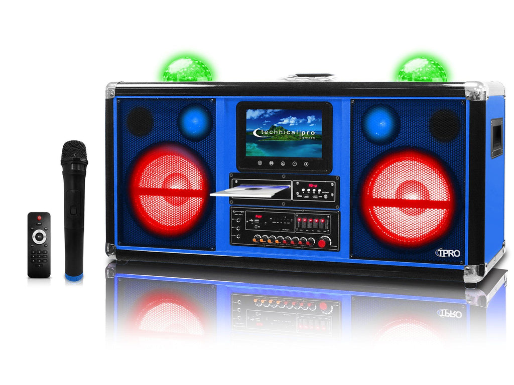 "Pro Double 10"" Speaker & Entertainment Center"