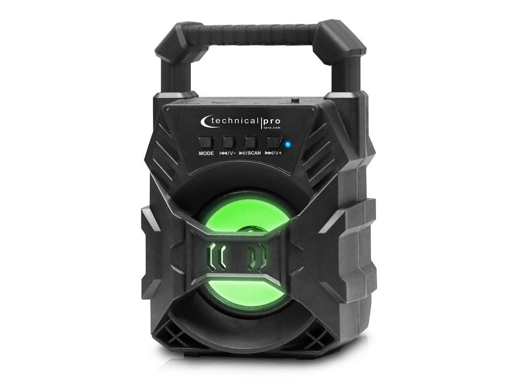 Rechargeable Bluetooth® LED Speaker