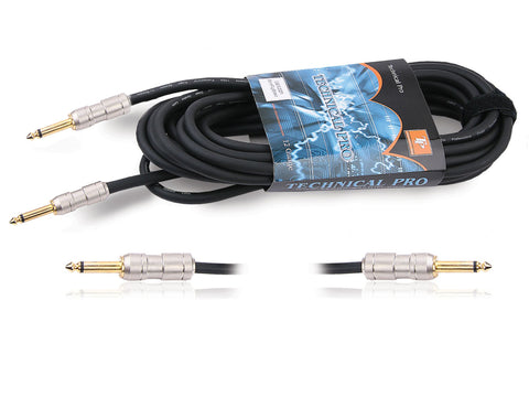 1/4'' to Dual RCA Audio Cables