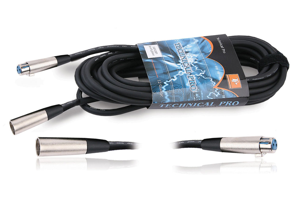 Technical Pro - XLR to XLR Female Audio Cables
